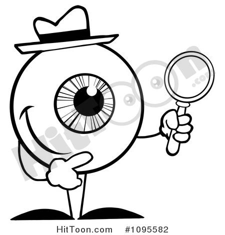 450x470 Eye Clipart