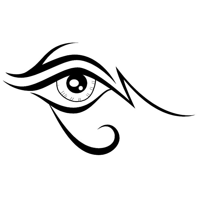 660x660 Eye Clip Art Black And White Free Clipart Images 2