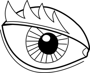 299x243 Eyeball Cartoon Eye Clip Art Clipart Image
