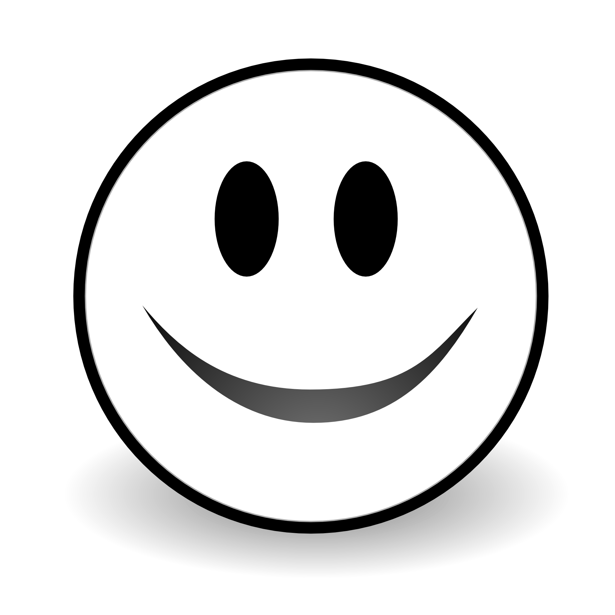 1969x1969 Smile Black And White Clipart