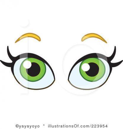 416x437 Eyeball Clipart Pretty Eye
