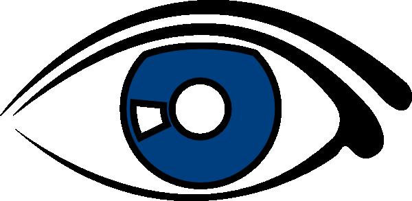 600x293 Eye Blue Clipart Clip Art