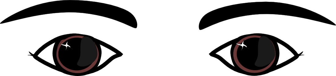 1100x251 Eye Clipart For Kid