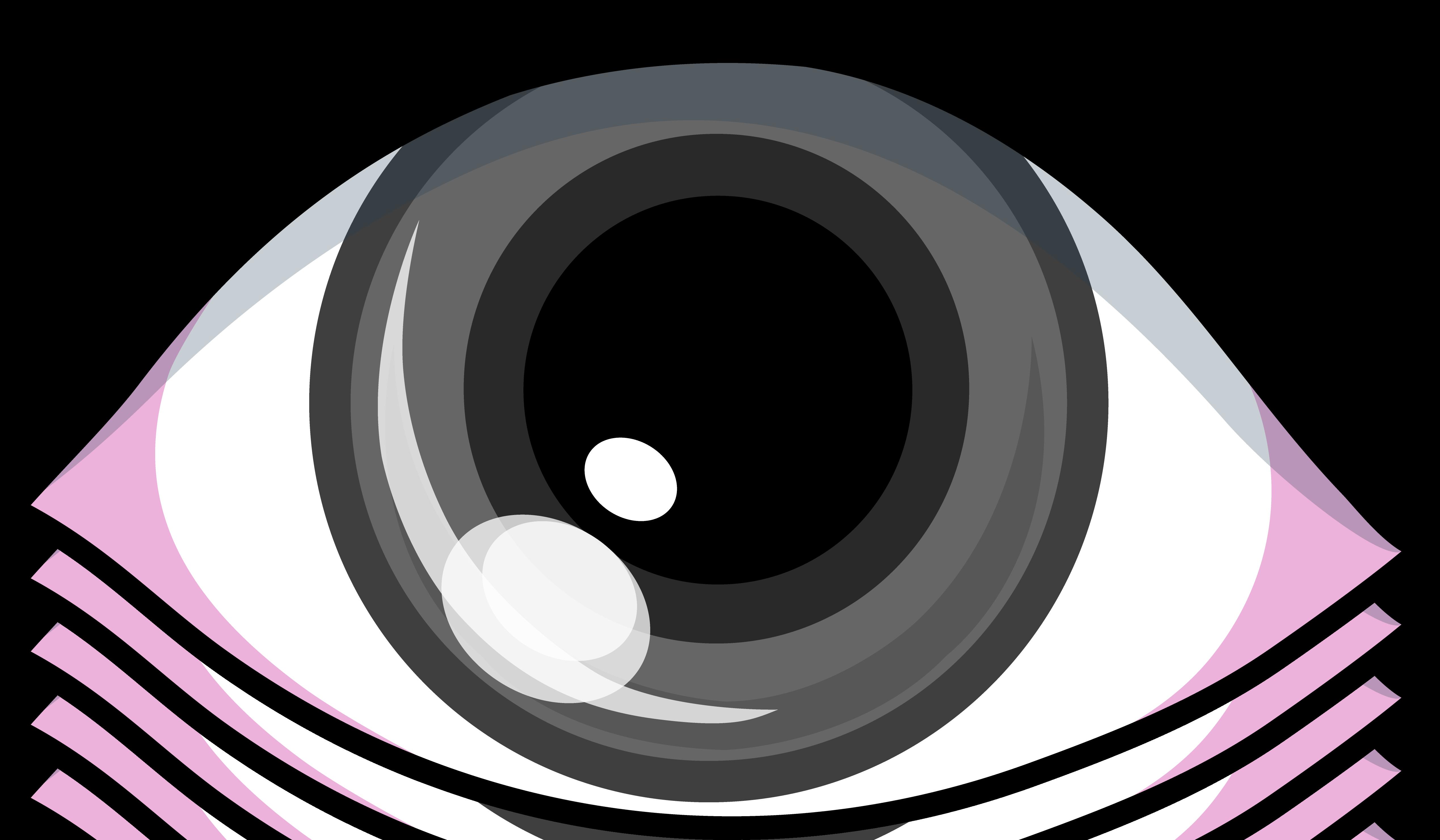 5076x2962 Grey Eye Clip Art Design Clipart Panda