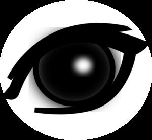 300x276 Eye Clip Art