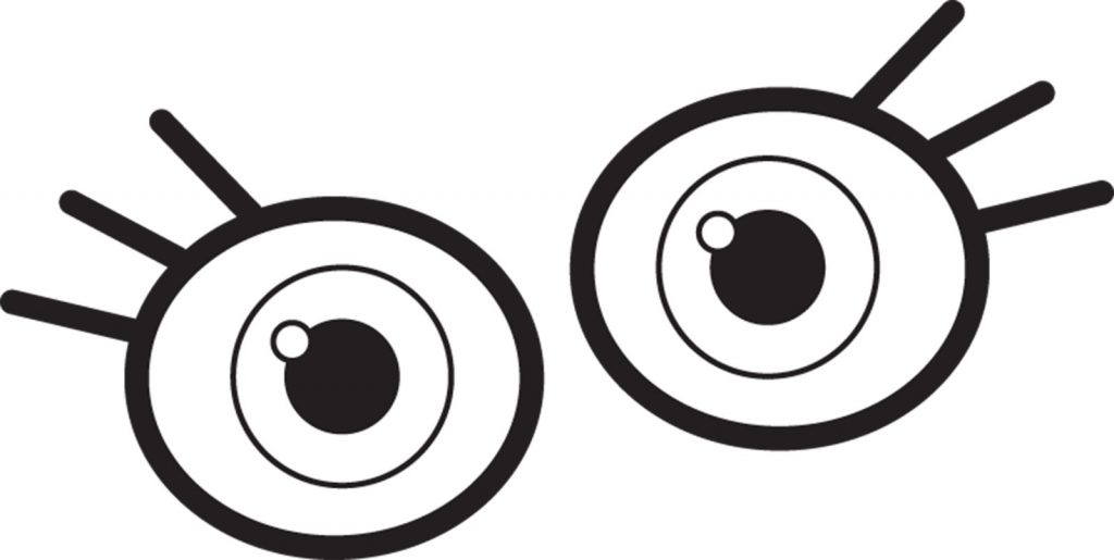 1024x515 Eyes Coloring Pages Surprising Googly Eyes Coloring Pages With Eye
