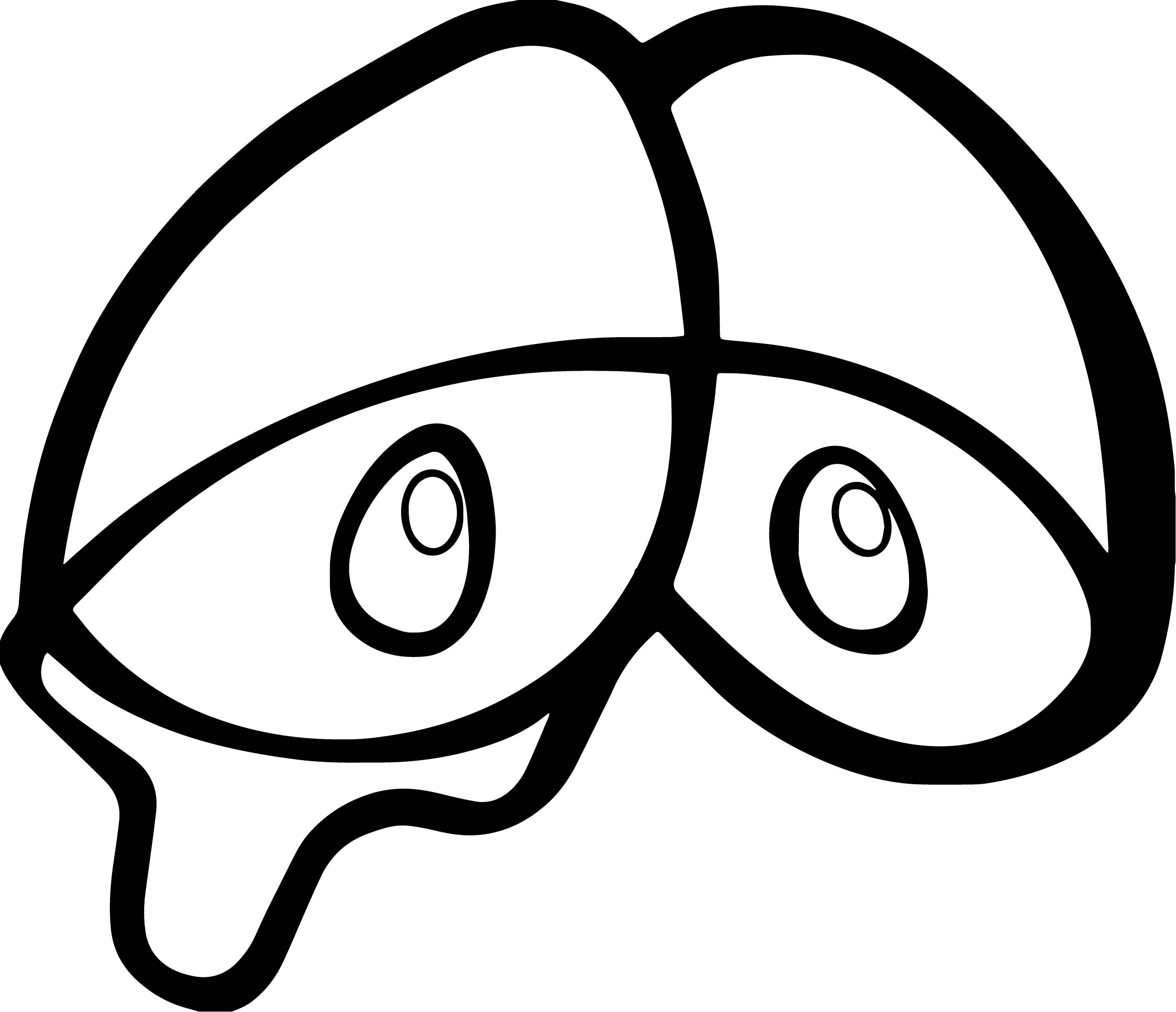 Eye Coloring Page | Free download on ClipArtMag