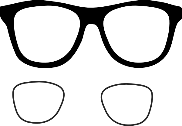 Eye Glasses Clipart
