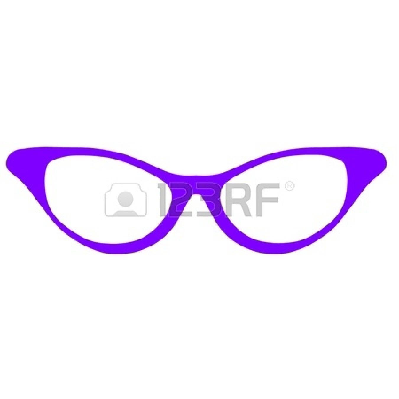 1350x1350 Glass Clipart Cat Eye Glass