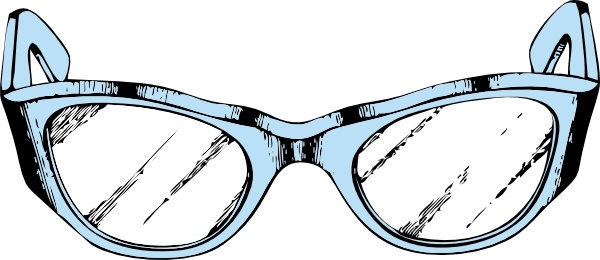 600x260 Eye Glasses Clip Art Free Vector In Open Office Drawing Svg ( Svg