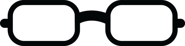 600x152 Eyeglasses Clip Art For Beauty Fashion Personalized Ts