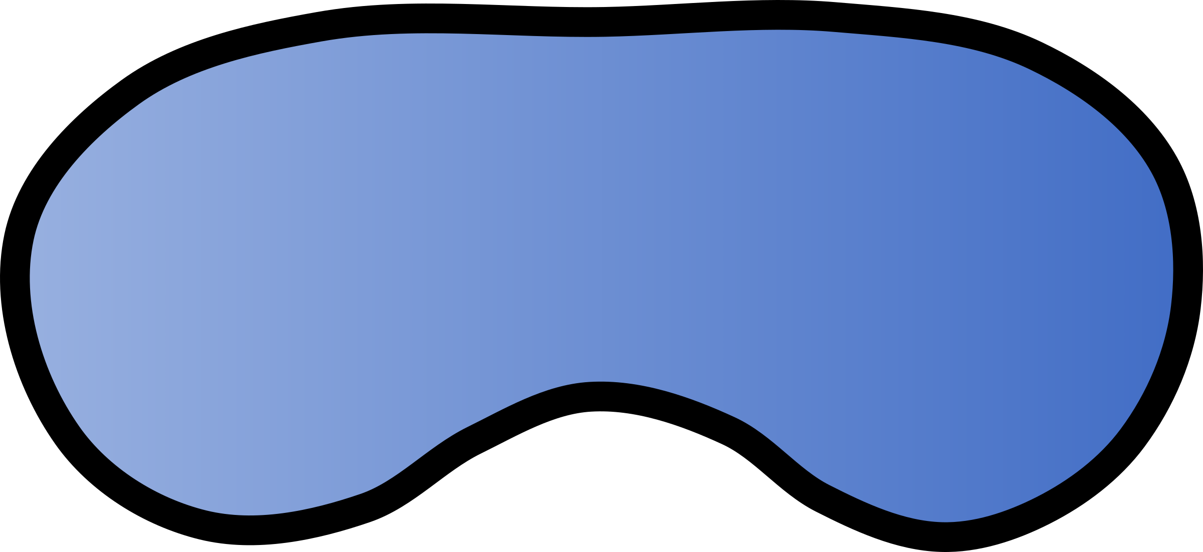 2400x1102 Mask Clipart Eye Mask