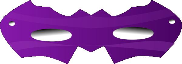 600x212 Purple Eye Mask Clip Art