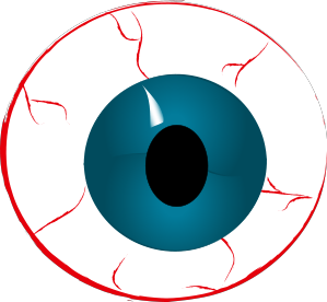 Eyeball Clipart