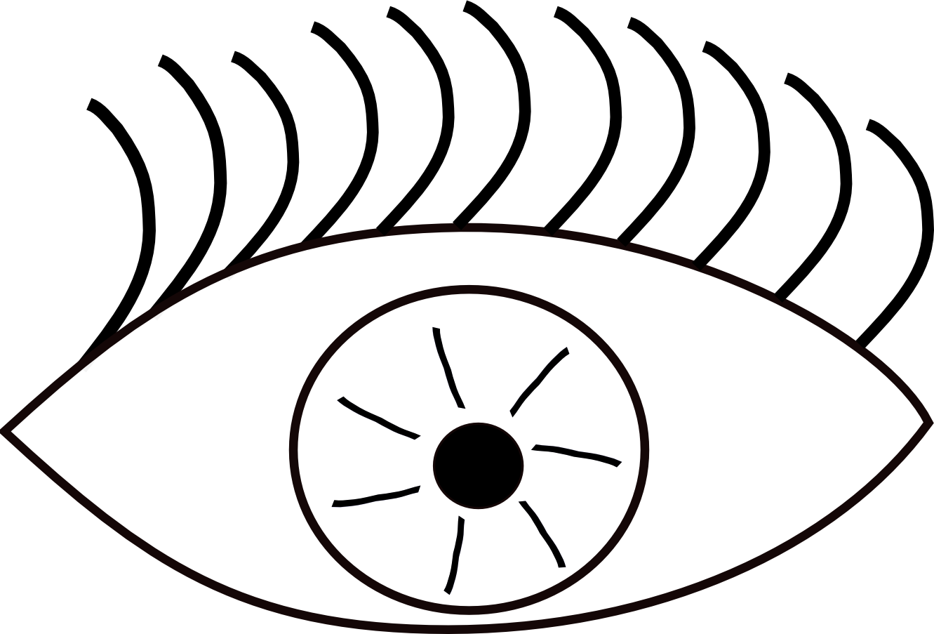 1331x903 Clip Art Brown Eyes Clipart