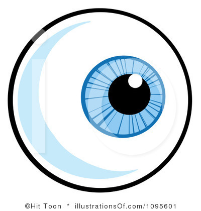 400x420 Clipart Eyeball