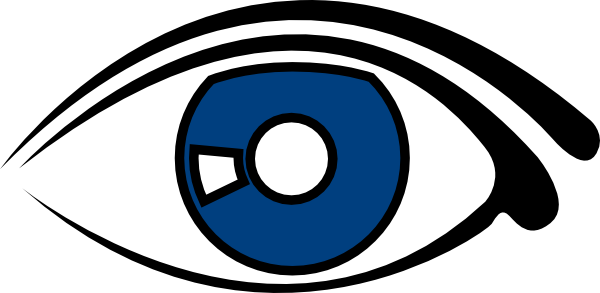 600x293 Blue Eyes Clipart Eyeball