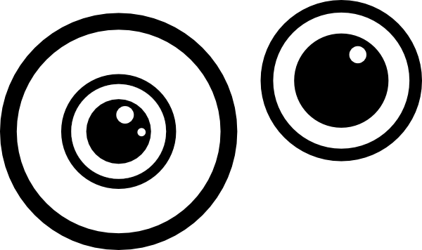 600x356 Eyeball Clipart Round Eye