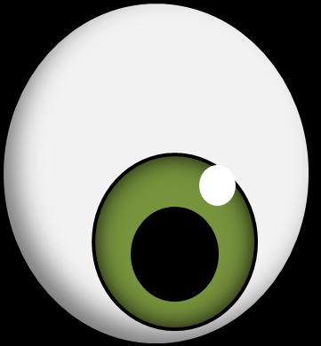 361x390 Eyeball Clipart Transparent Eye