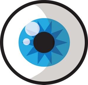300x290 Eyeball Eye Clip Art Black And White Free Clipart Images 2