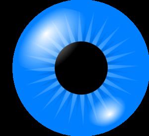 300x273 Eyeball Eye Clip Art Black And White Free Clipart Images 3 Image