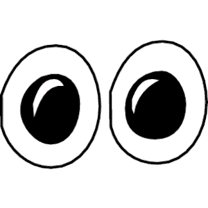 300x300 Eyeballs Googly Eyes Clip Art Clipart 3