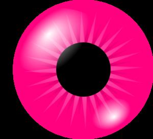 300x273 Pink Eye Clip Art