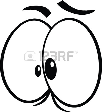 410x450 Crazy Cartoon Eyes Royalty Free Cliparts, Vectors, And Stock