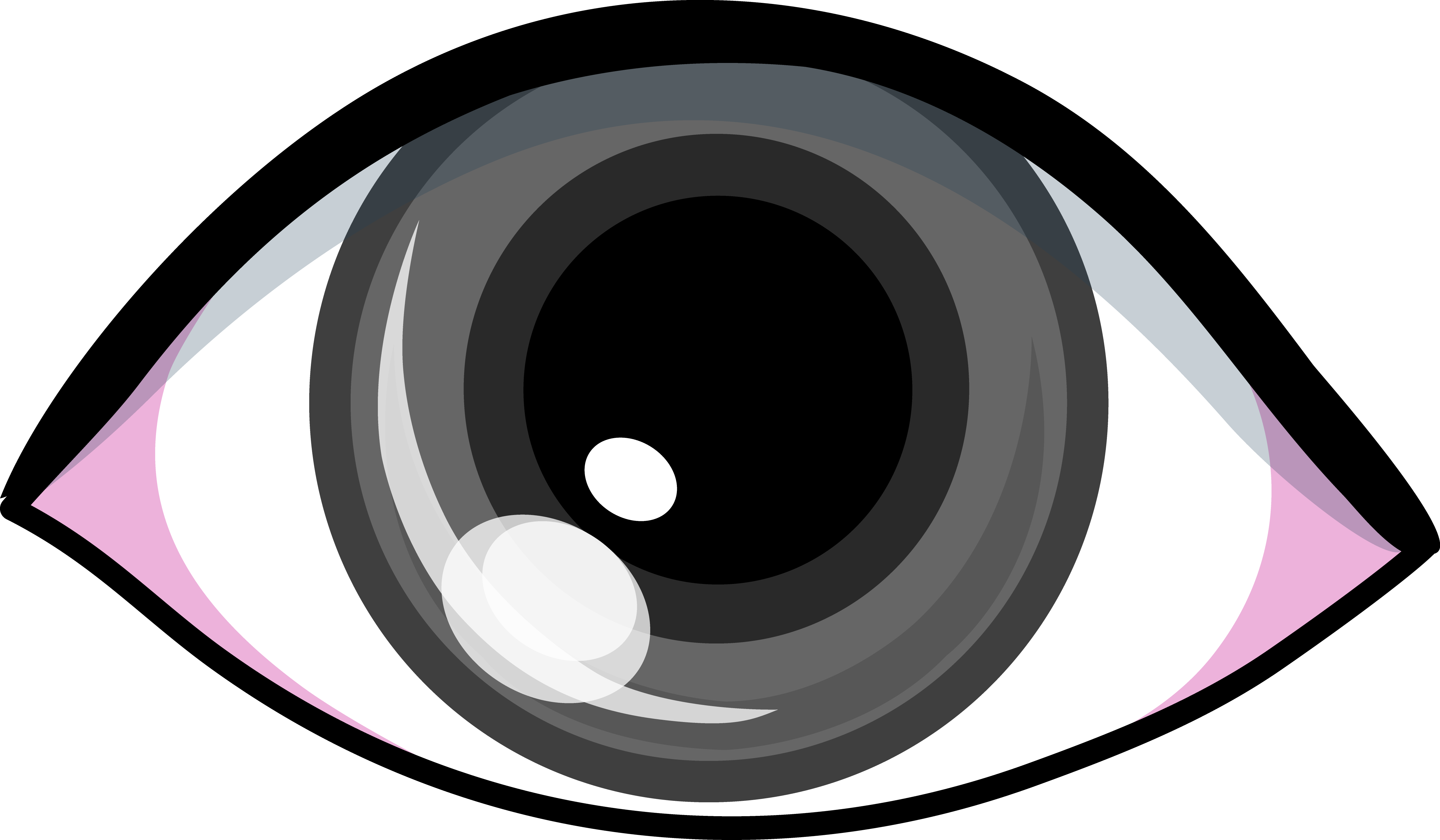 5076x2962 Eye Clipart Graphic