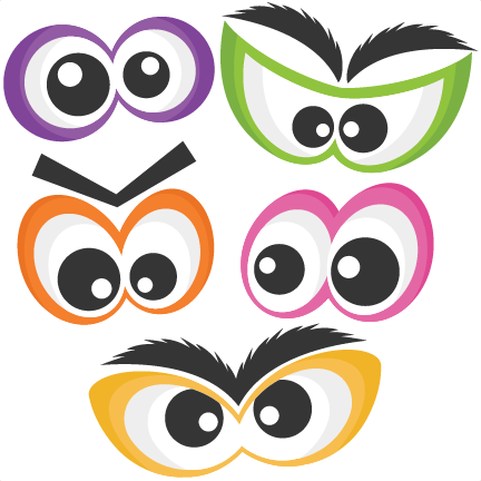 432x432 Scary Eyes Clipart