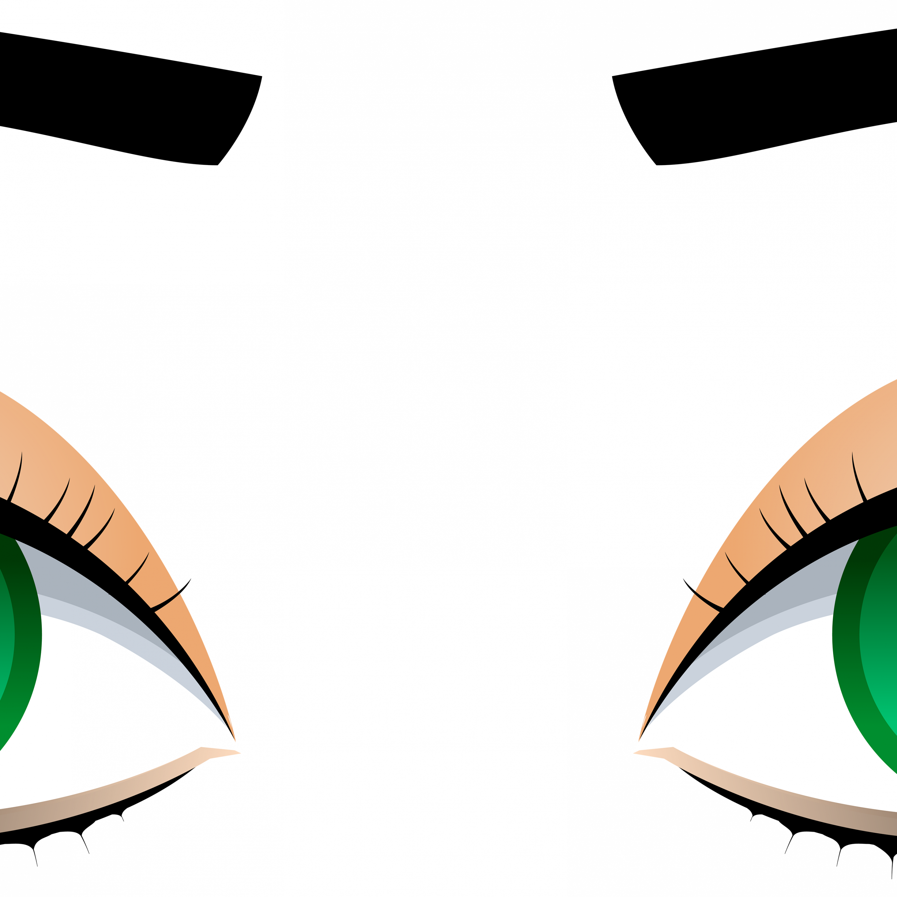 3000x3000 Female Eyes With Eyebrows Png Clip Art Best Web Clipart, Eyebrows