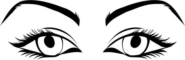 600x195 Vector Eyebrows Free Vector Download (30 Free Vector)