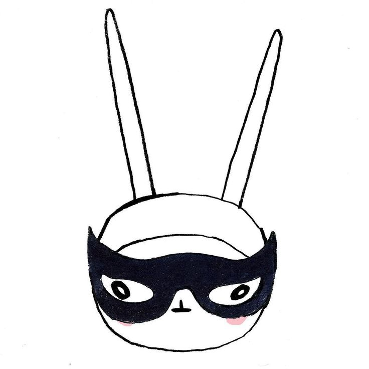 736x736 Bunny Eye Brow Clipart
