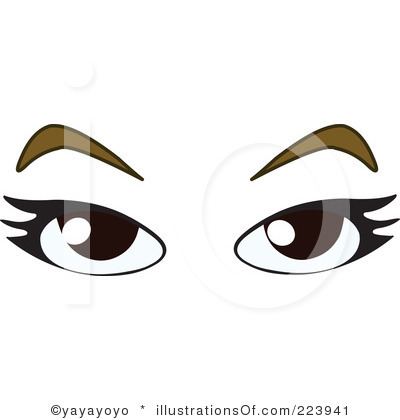 400x420 Eyebrow Clipart Royalty Free Eyes Clipart Illustration
