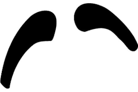 450x300 Smiley Eyebrows Sad Clipart, Eyebrows With Face Clip Art