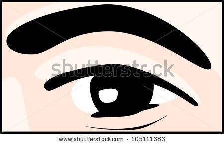 450x290 Blue Eyes Clipart Bushy Eyebrow