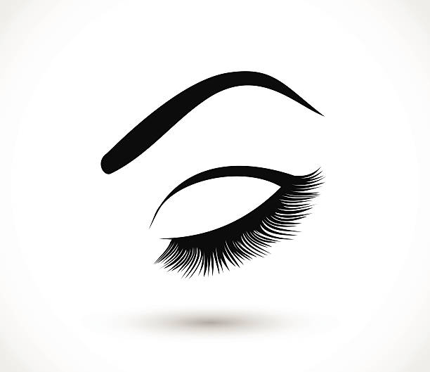 612x529 Eye And Lashes Clipart Collection