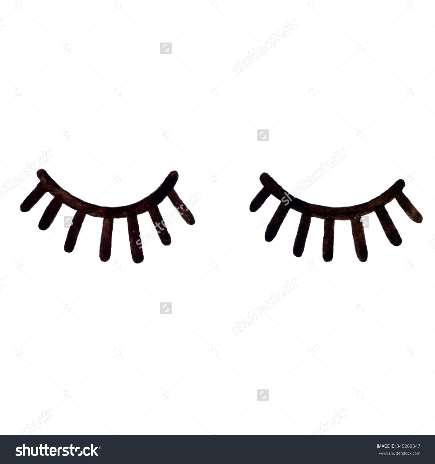 1500x1600 Eyelash Clipart Cartoon