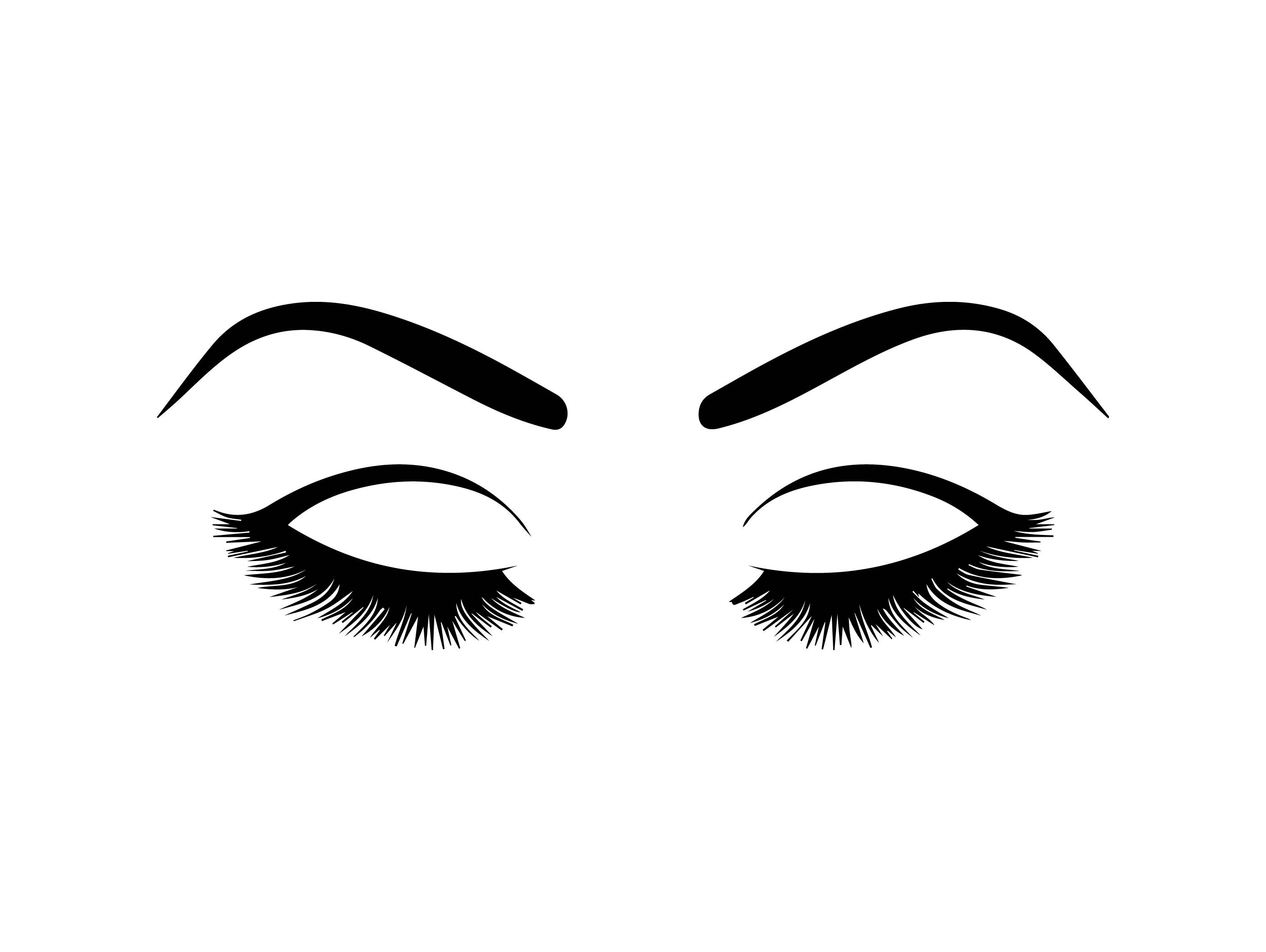 2814x2116 Eyelashes Png Image Collections
