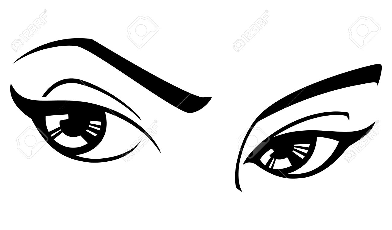 1300x764 Eyes With Eyelashes Clipart Black And White