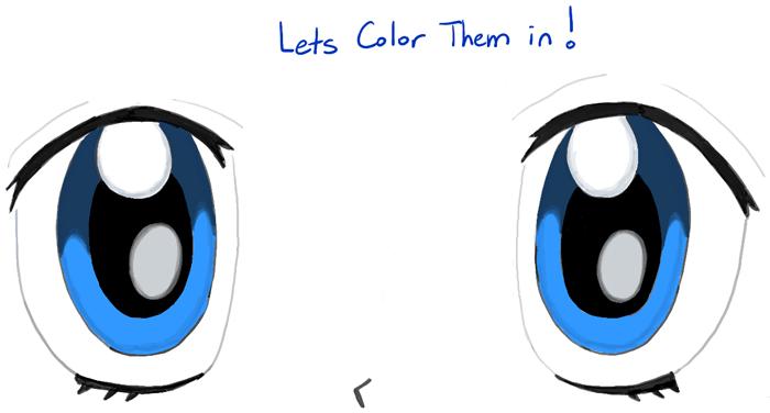 700x376 Blue Eyes Clipart Anime Eye
