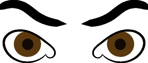 512x219 Eyeball Clipart Man Eye