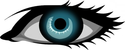 497x200 Eyes Clip Art Free Vector In Open Office Drawing Svg Svg 2