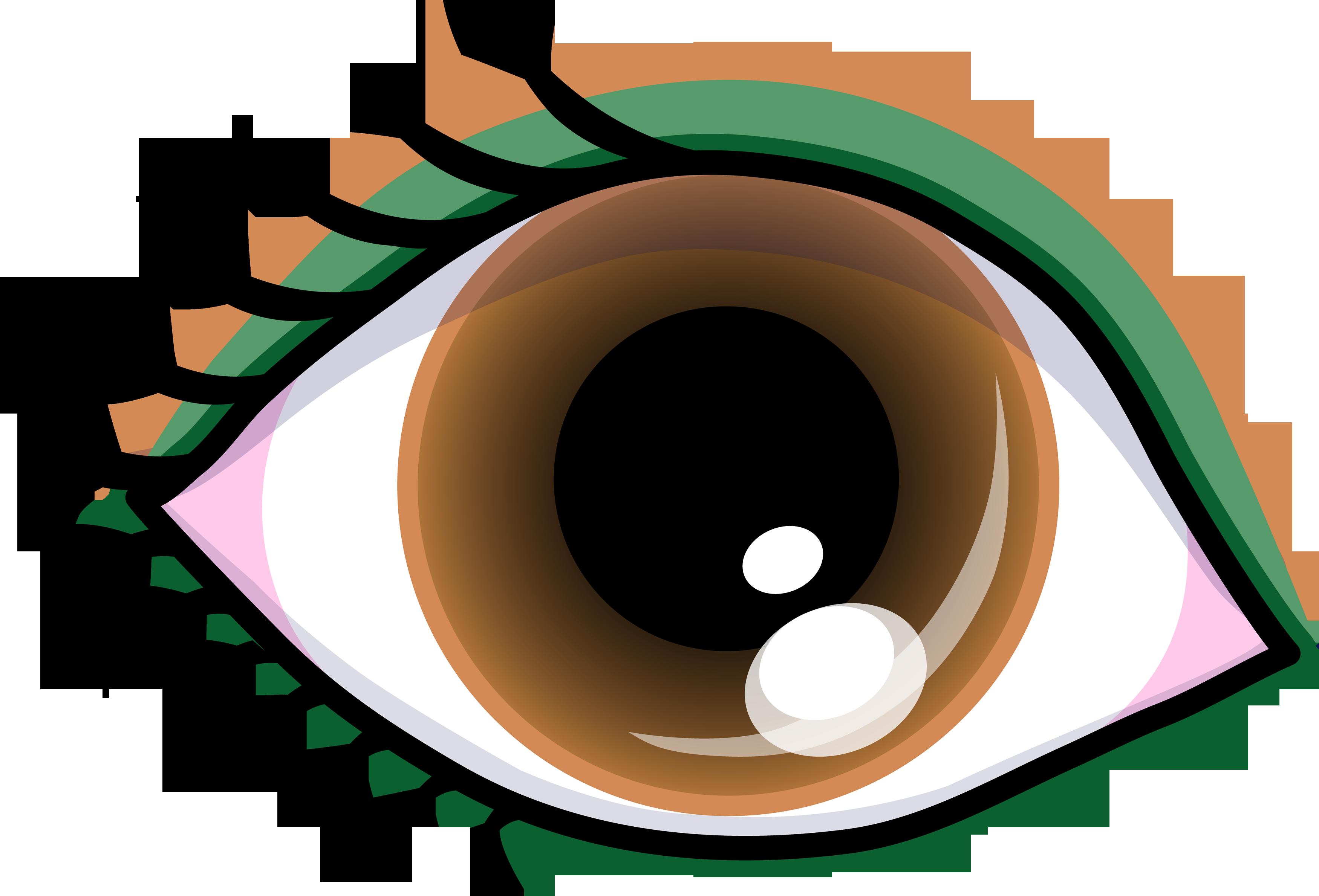 3500x2379 Eye Clip Art