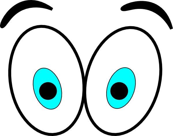 600x473 Looking Eyes Clip Art Free Clipart Images