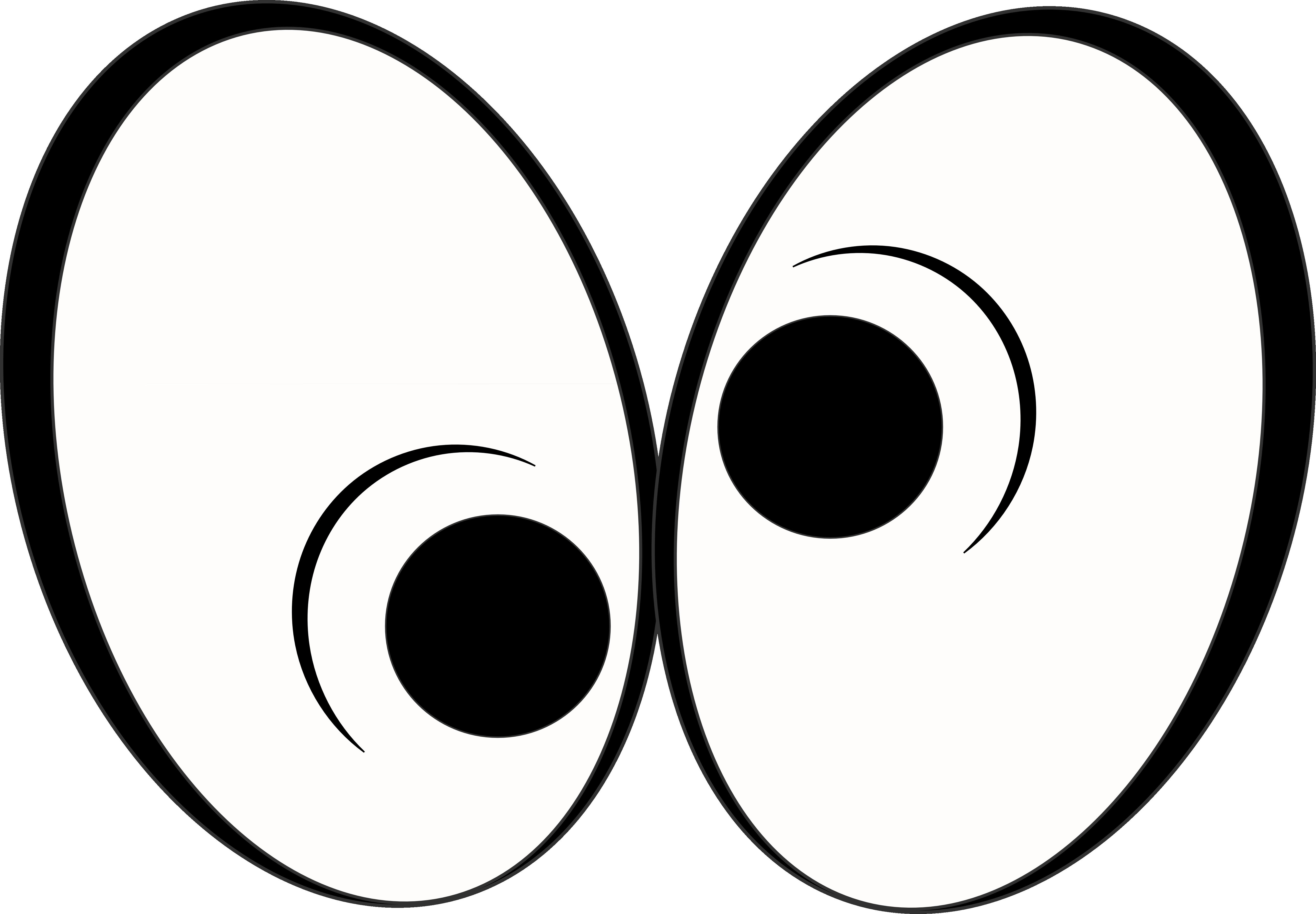 5378x3736 Cartoon Image Of Eyes Looking