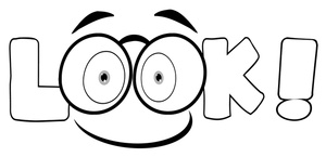 300x145 Look Eyes Clipart Cliparts