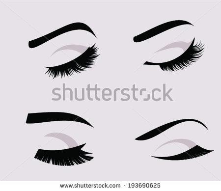450x389 Eyelash Clipart Eyes Shut