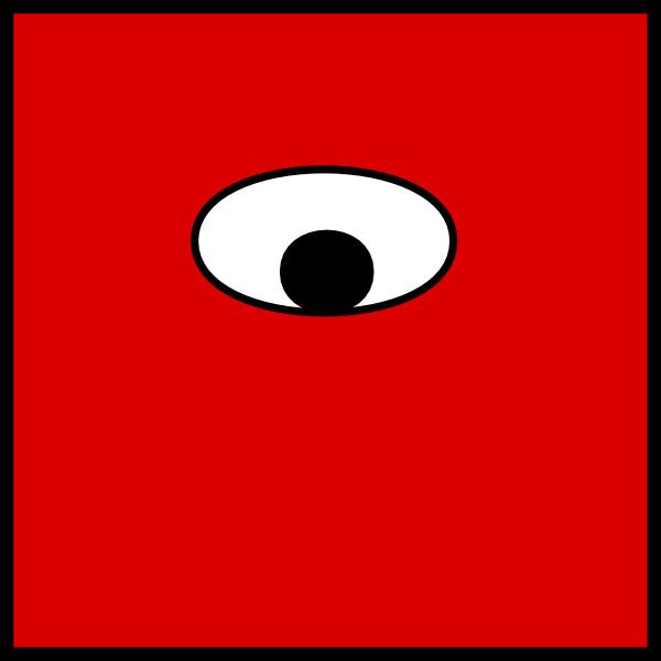 600x600 One Eye Clip Art