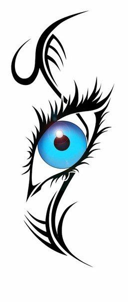 257x604 28 Best Eyes Tattoo Designs Images Design Tattoos